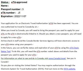 cic寄發簽證信範例