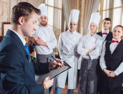 飯店管理人員訓練